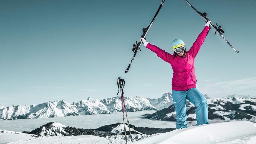 Skifahren Schmitten Zell am See